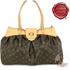 Louis Vuitton Monogram Boeshi Tote+Dust Bag +Box
